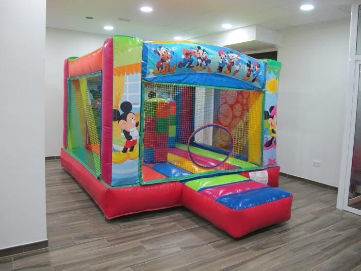 Castillo Hinchable, Cumpleaños infantil, animación infantil, área de ocio